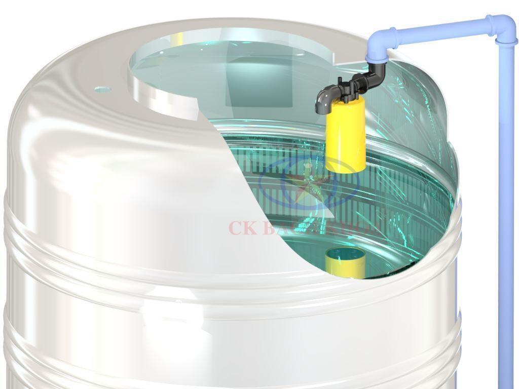Phao cơ bồn nước tự động đóng/mở tiện lợi sử dụng
