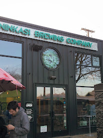 Arrival at Ninkasi Brewing