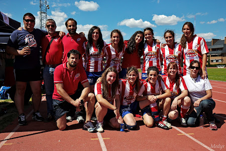 Rugby femenino Altetico de Madrid