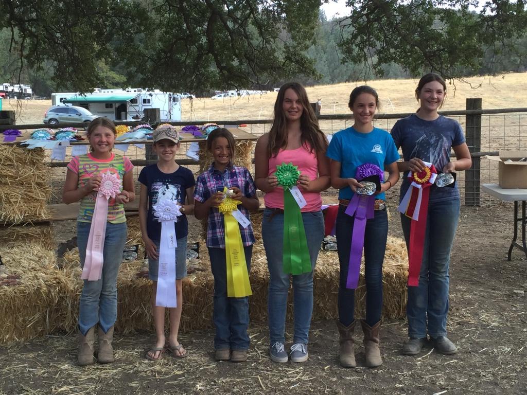 Junior Riders enjoy Trail Trials