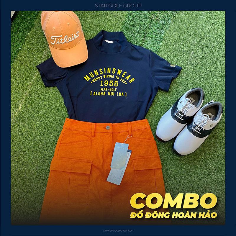 Thời trang Golf trẻ trung, phá cách đến từ thương hiệu thời trang Golf Handee