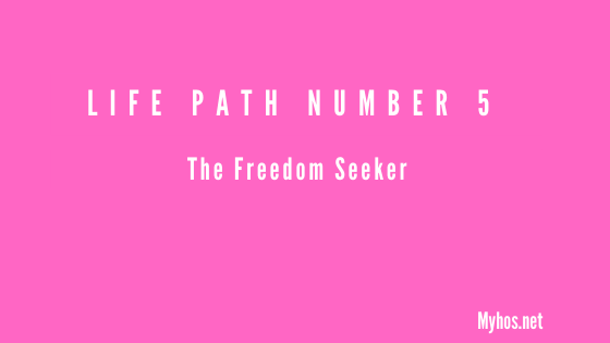 life path number 5 meaning