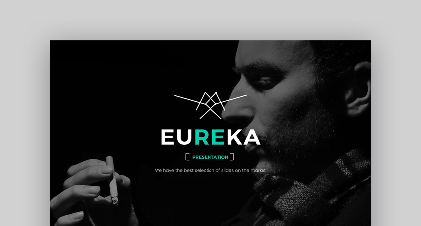 Eureka - Modern PowerPoint Presentation Template Design