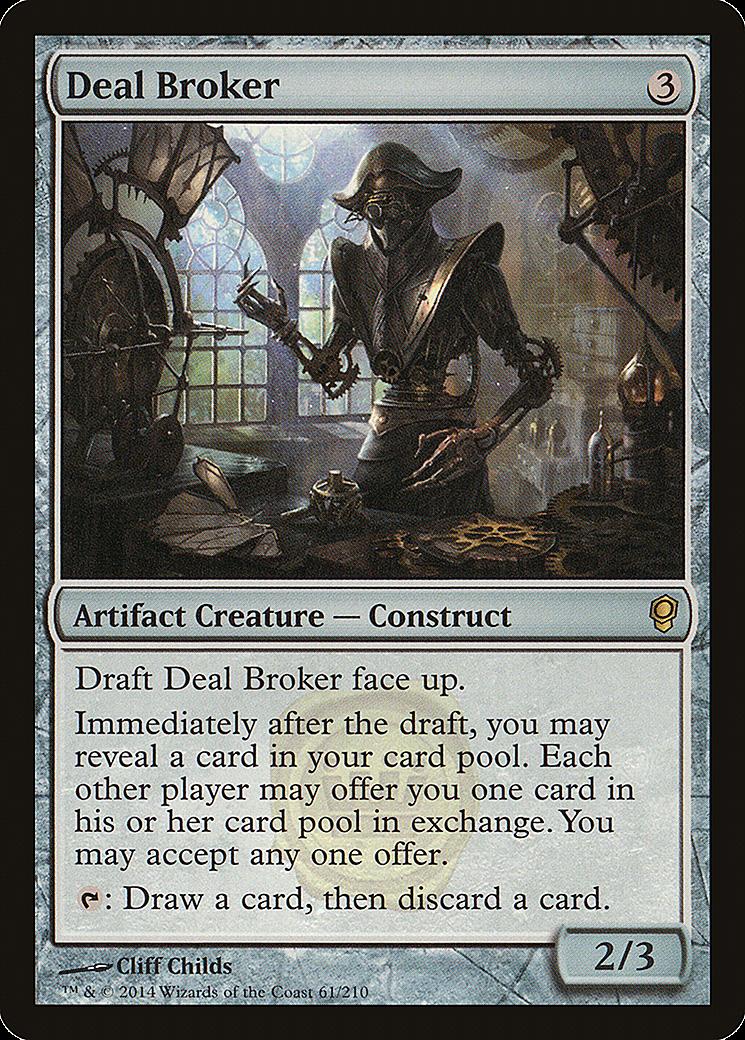 Deal Broker MTG Card