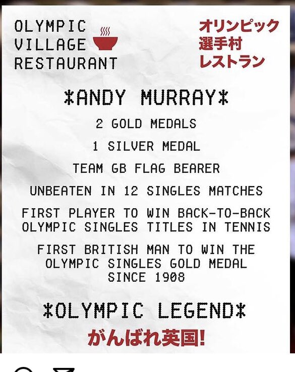 Andy Murray Record at Olympics