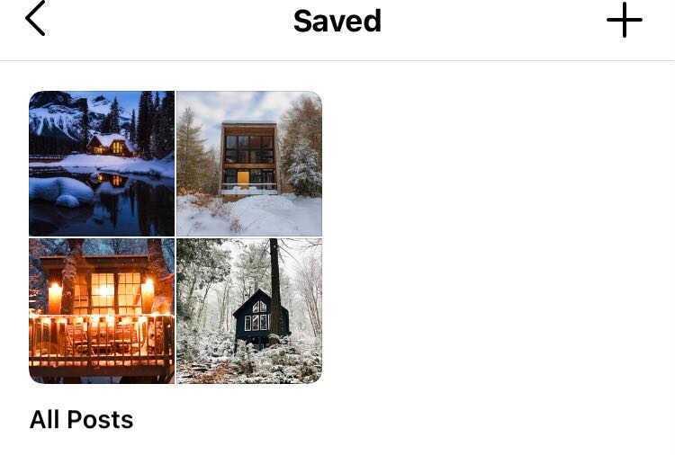 saved bookmarks on instagram