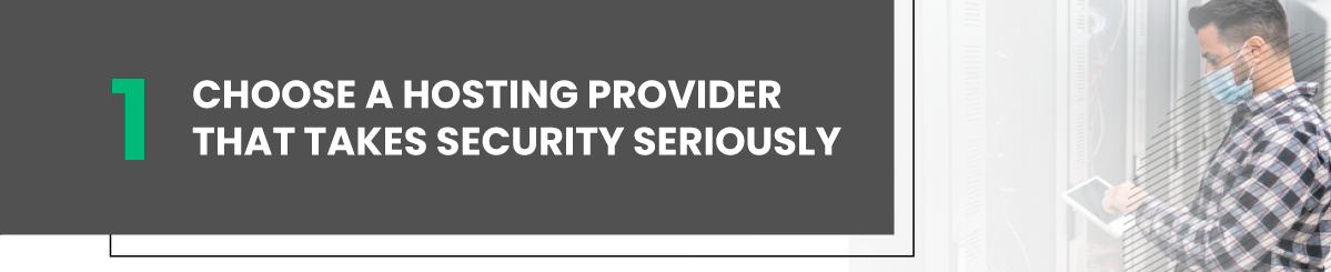 vsp security choose reliable hosting