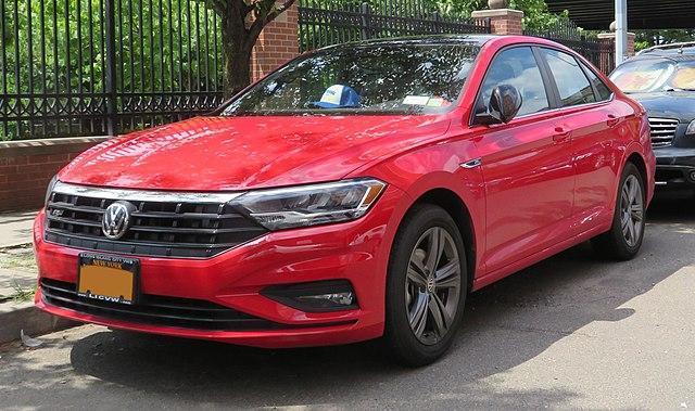 Red Volkswagen Jetta