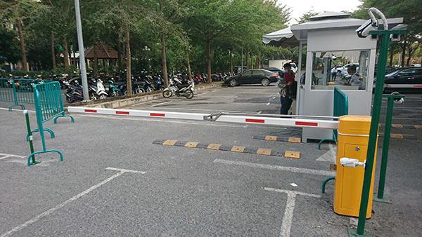 Barrier giúp khiểm soát được những phương tiện ra hay vào khu vực