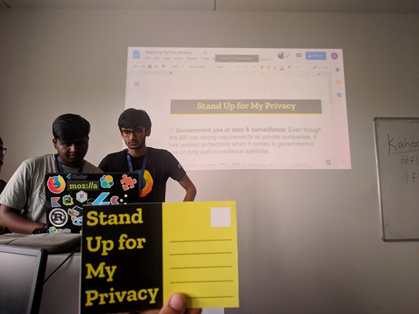 Let's Stand Up for our Privacy!