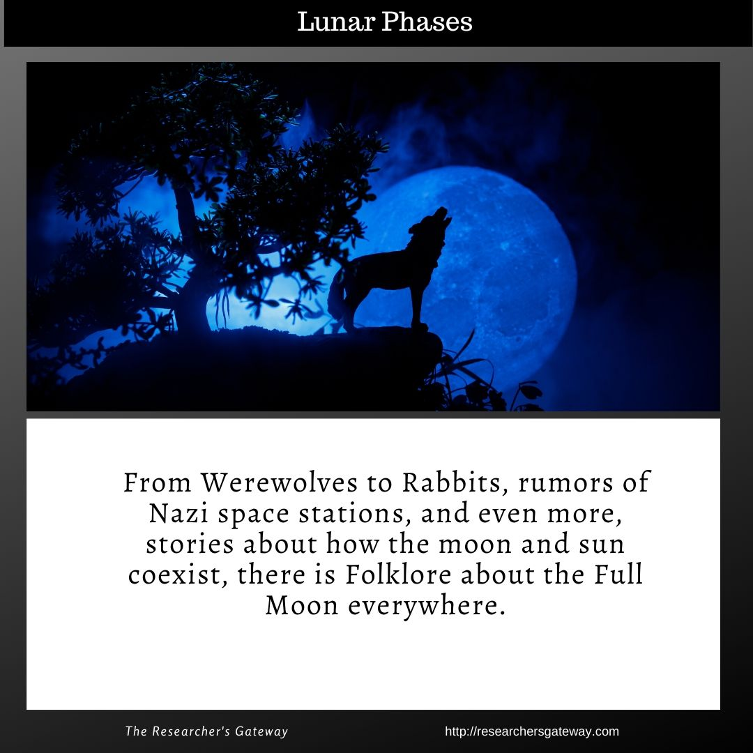 Lunar Phases - Full Moon - werewolves