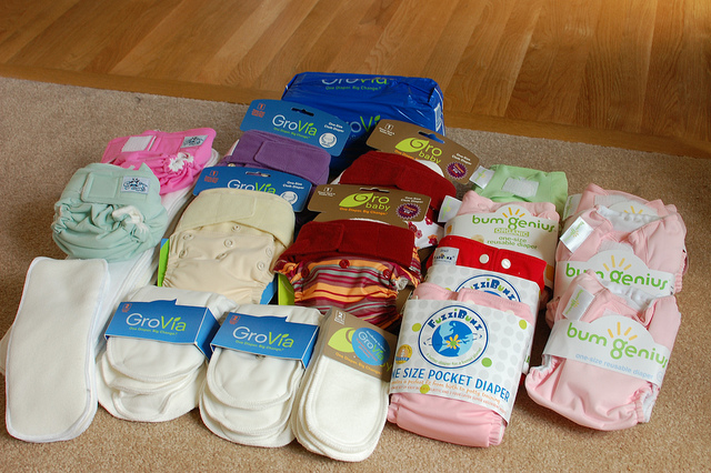 cloth washing diapers benefit