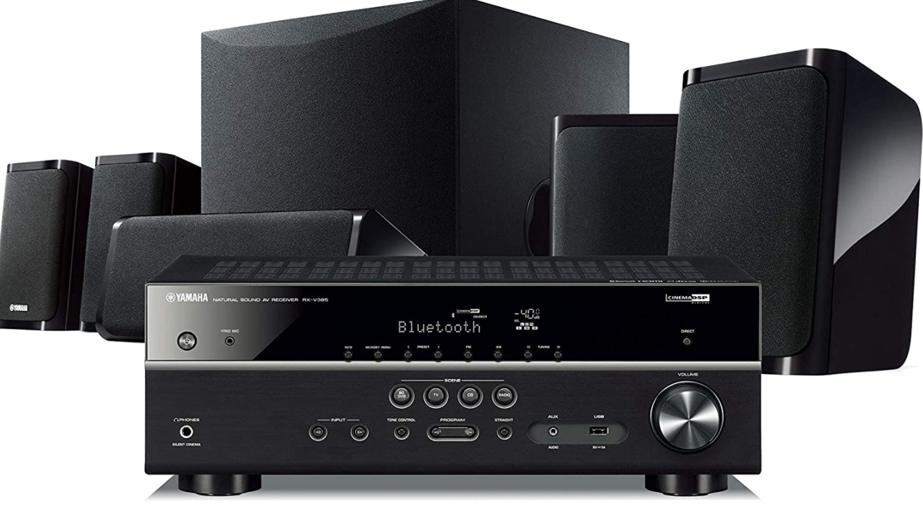 Yamaha YHT- 4950U Home Theater System with Bluetooth