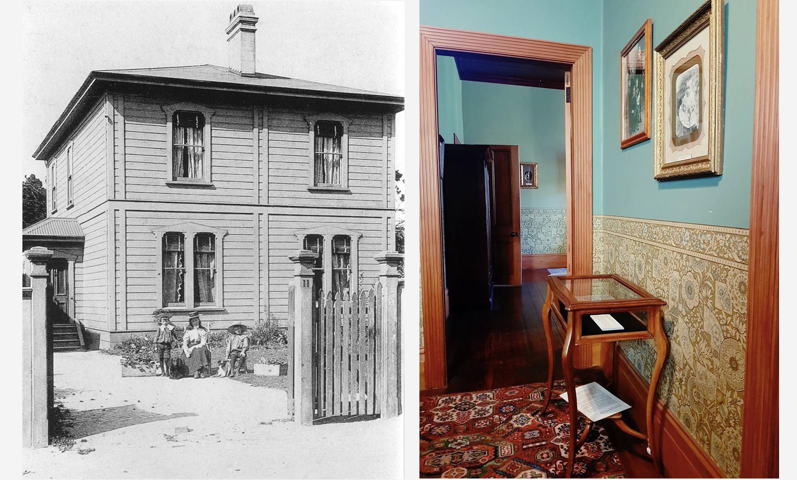 Local de nascimento de Katherine Mansfield, Thorndon, Wellington