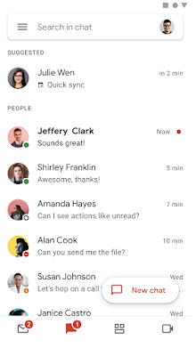 Google Meet y Chat