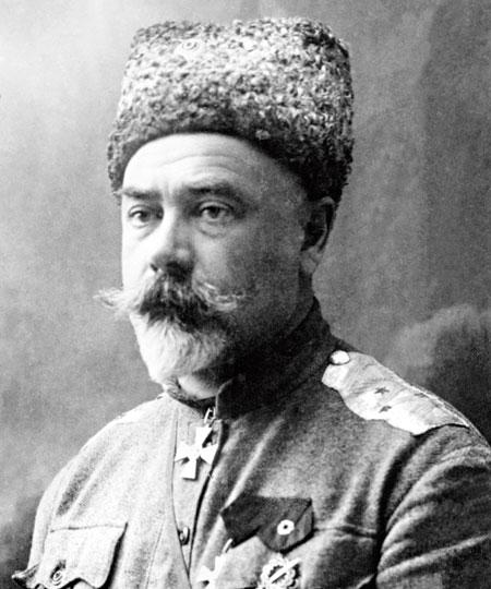 Головнокомандуючий збройними силами Півдня Росії генерал-лейтенант Антон Денікін