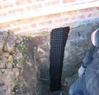 Mari-drain applied to fill