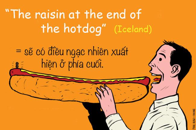 Người Iceland thường dùng cụm