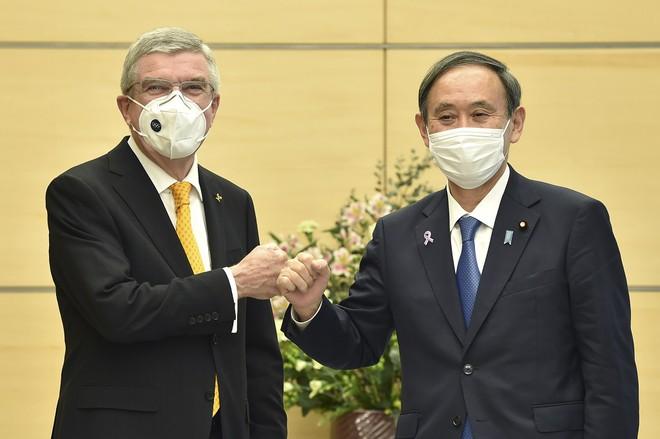 Thủ tướng Nhật Bản Yoshihide Suga và Thủ tướng Úc Scott Morrison tại thủ đô Tokyo ngày 16.11 /// AFP