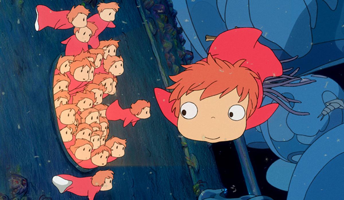 A goldfish Ponyo