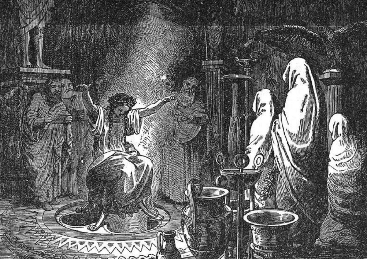 Гадание по бреду Пифии