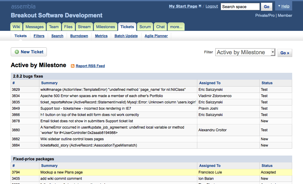 assembla project management software alternative