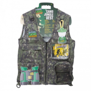 Gear up for a hike or backyard camping with this awesome vest and its multitude of pockets and storage!
