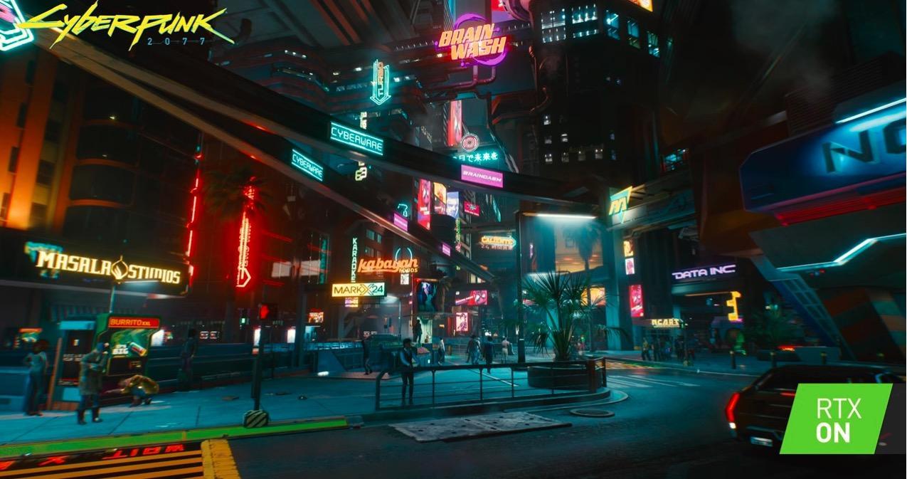夜晚建筑亮着灯的街道  中度可信度描述已自动生成