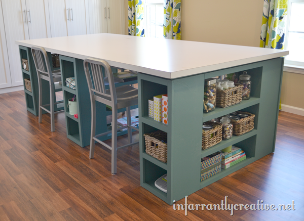 10 DIY Craft Table Ideas for Every Budget