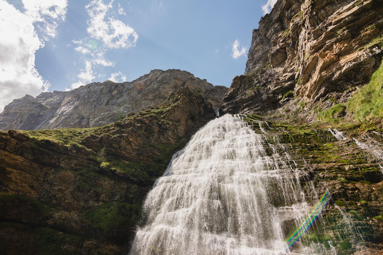 Cascada Cola de Caballo del Parque Nacional de Ordesa y Monteperdido