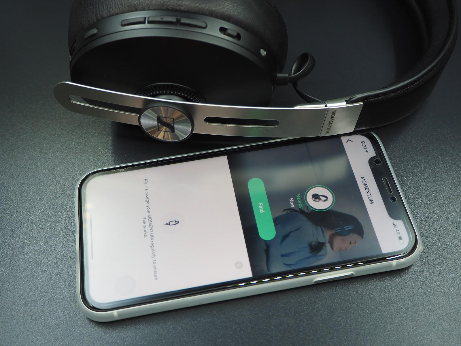 TILE smartphone application