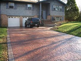 driveway finishing issues