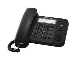 Panasonic - jednolinkový telefon, Data port, barva černá