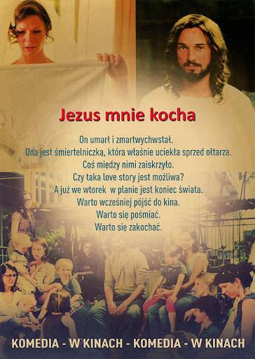 Tył ulotki filmu 'Jezus Mnie Kocha'