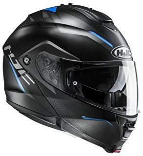 HJC Moto Casco IS Max II Dova mc2sf, Negro/Azul, tamaño S