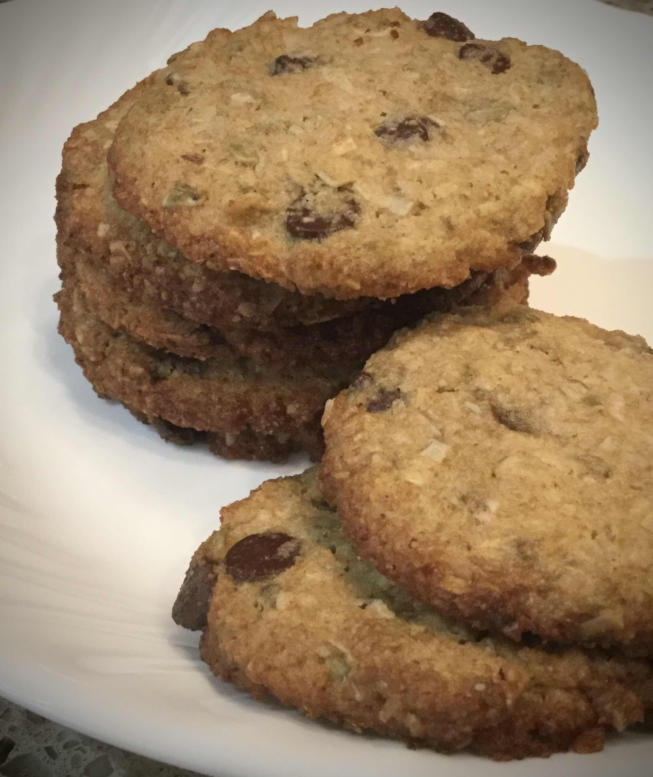Keto, Nut Free Cowboy Cookies