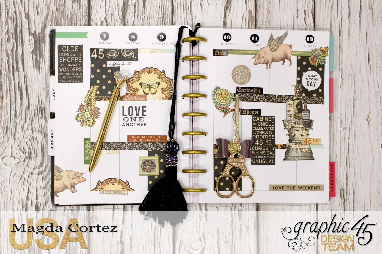 11. My G45 Planner August, Olde Curiosity Shoppe By Magda Cortez, Product By Graphic 45, Photo 11 of 26.jpg