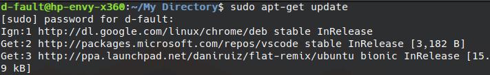 sudo linux command