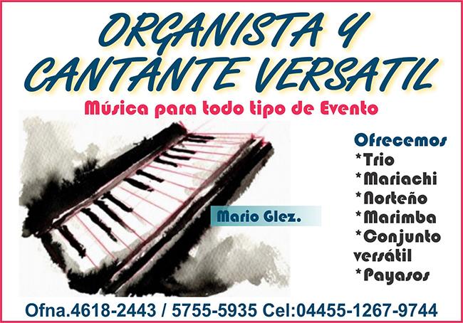 organista y cantante