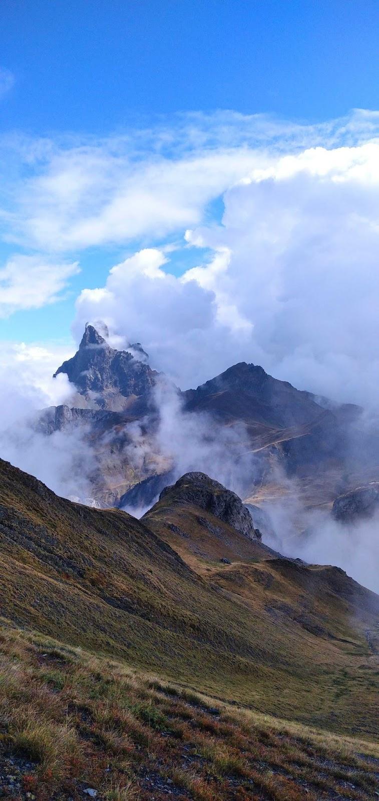 Vistas al Valle de Aragón, en el Pirineo aragonés