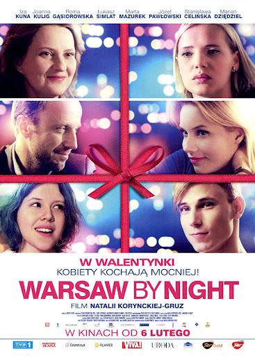 Przód ulotki filmu 'Warsaw By Night'