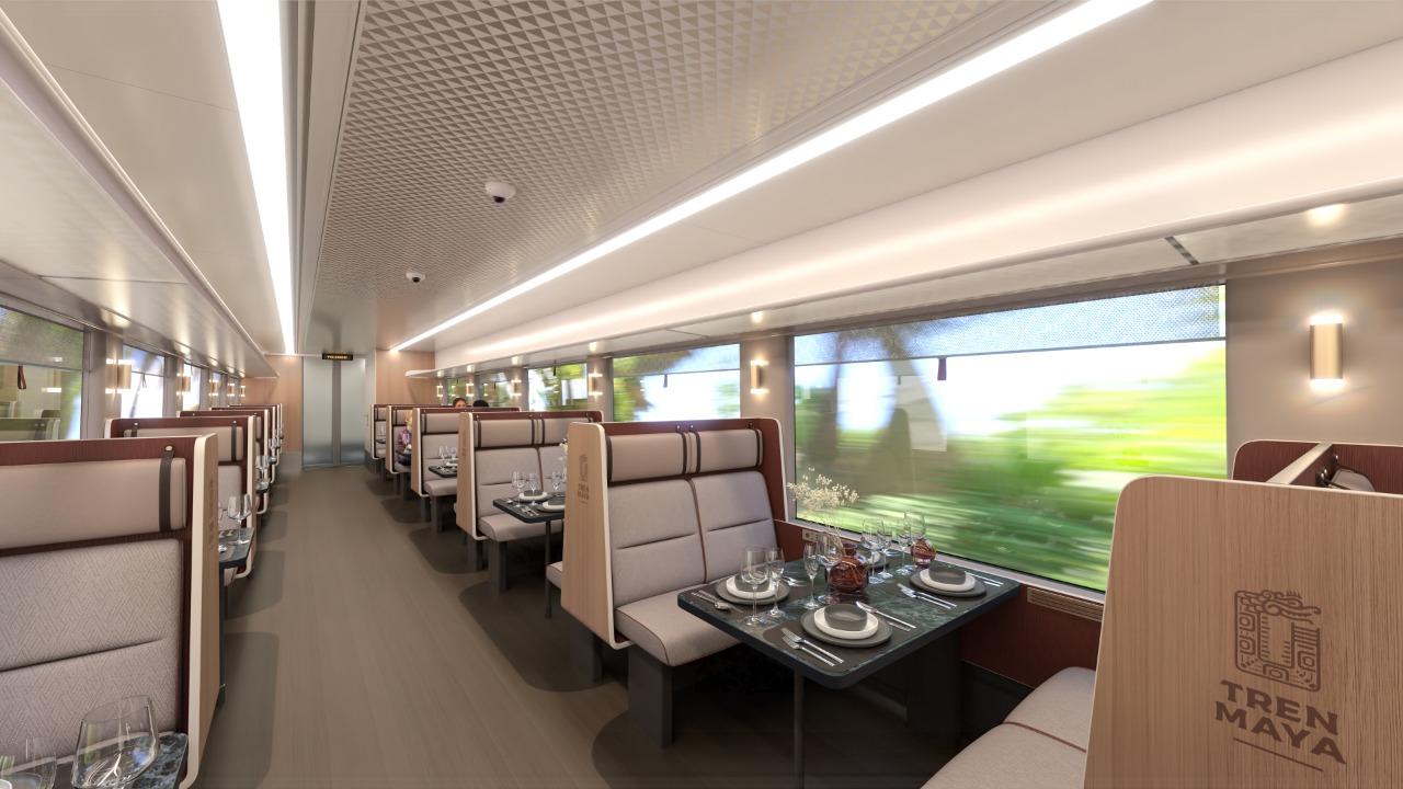 asientos tren maya
