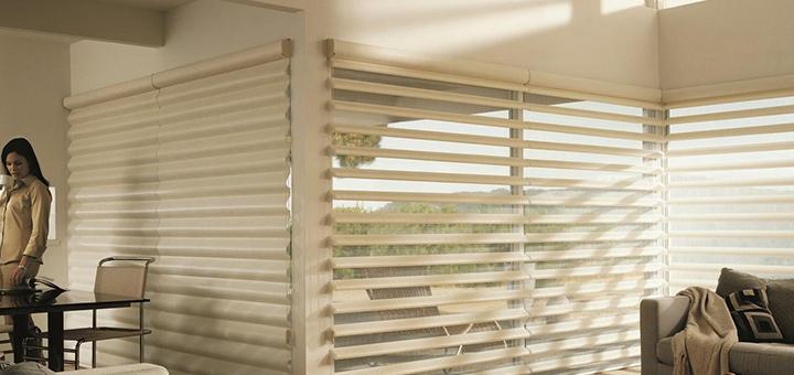 diferencias cortinas horizontales verticales hunter douglas
