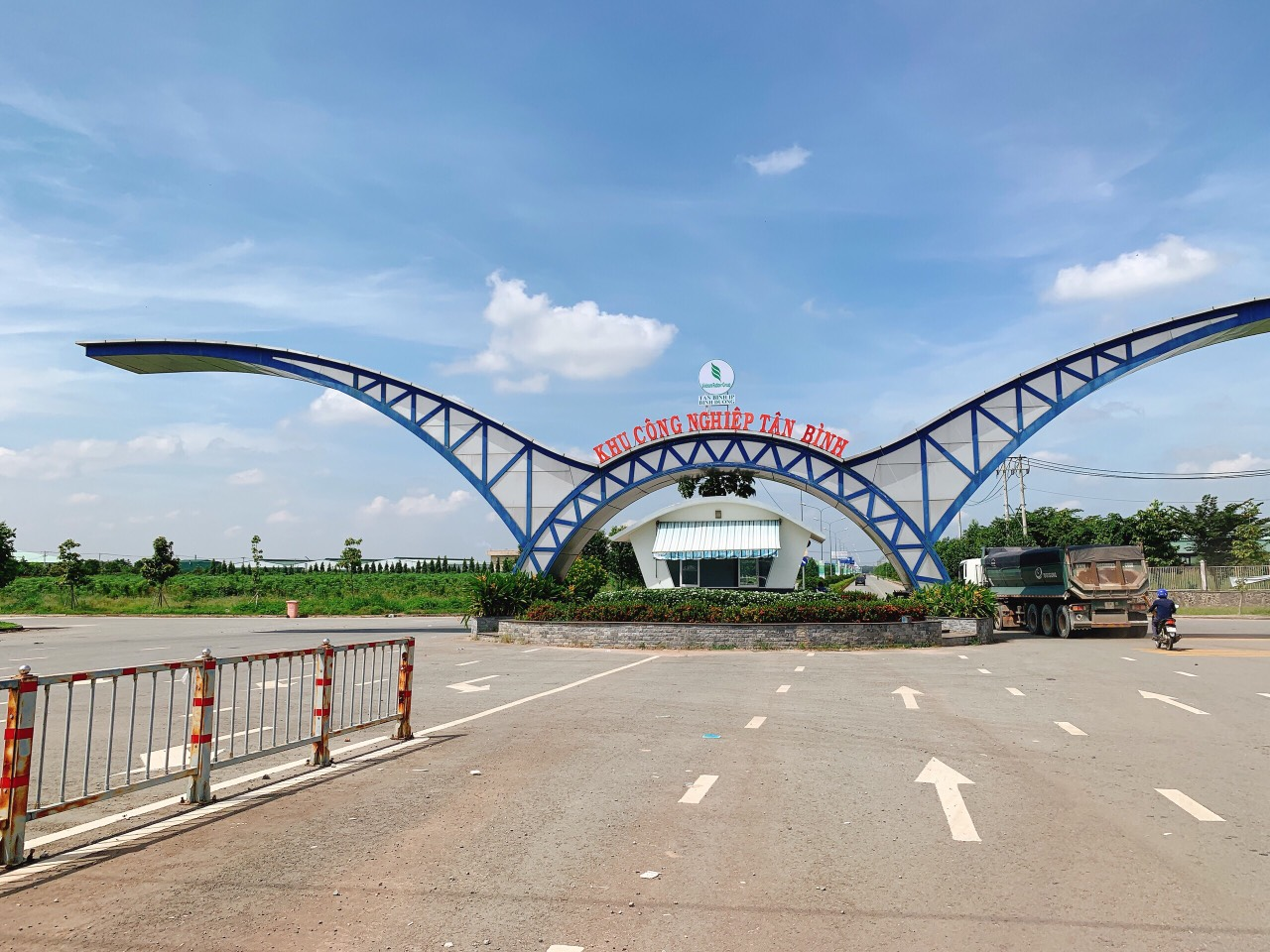 Đường đi Khu công nghiệp Tân Bình đang thu hút nhà đầu tư