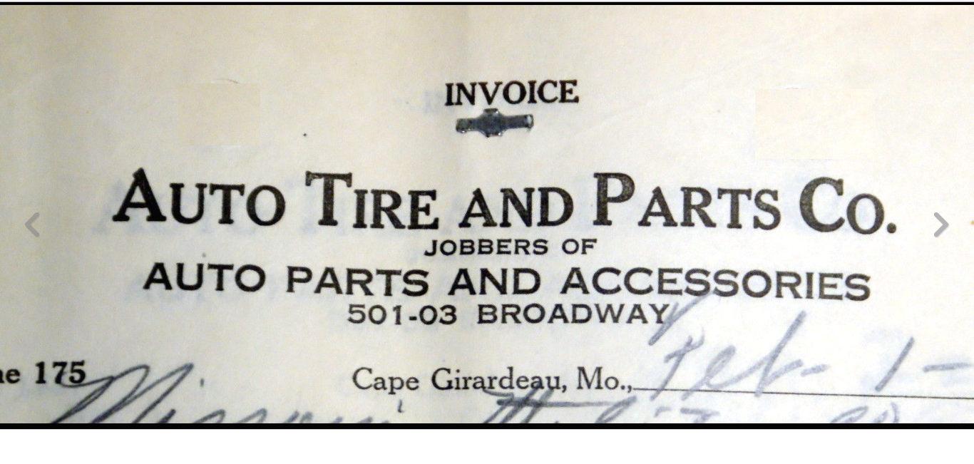 Auto Parts Company Invoice dated 1934.jpg