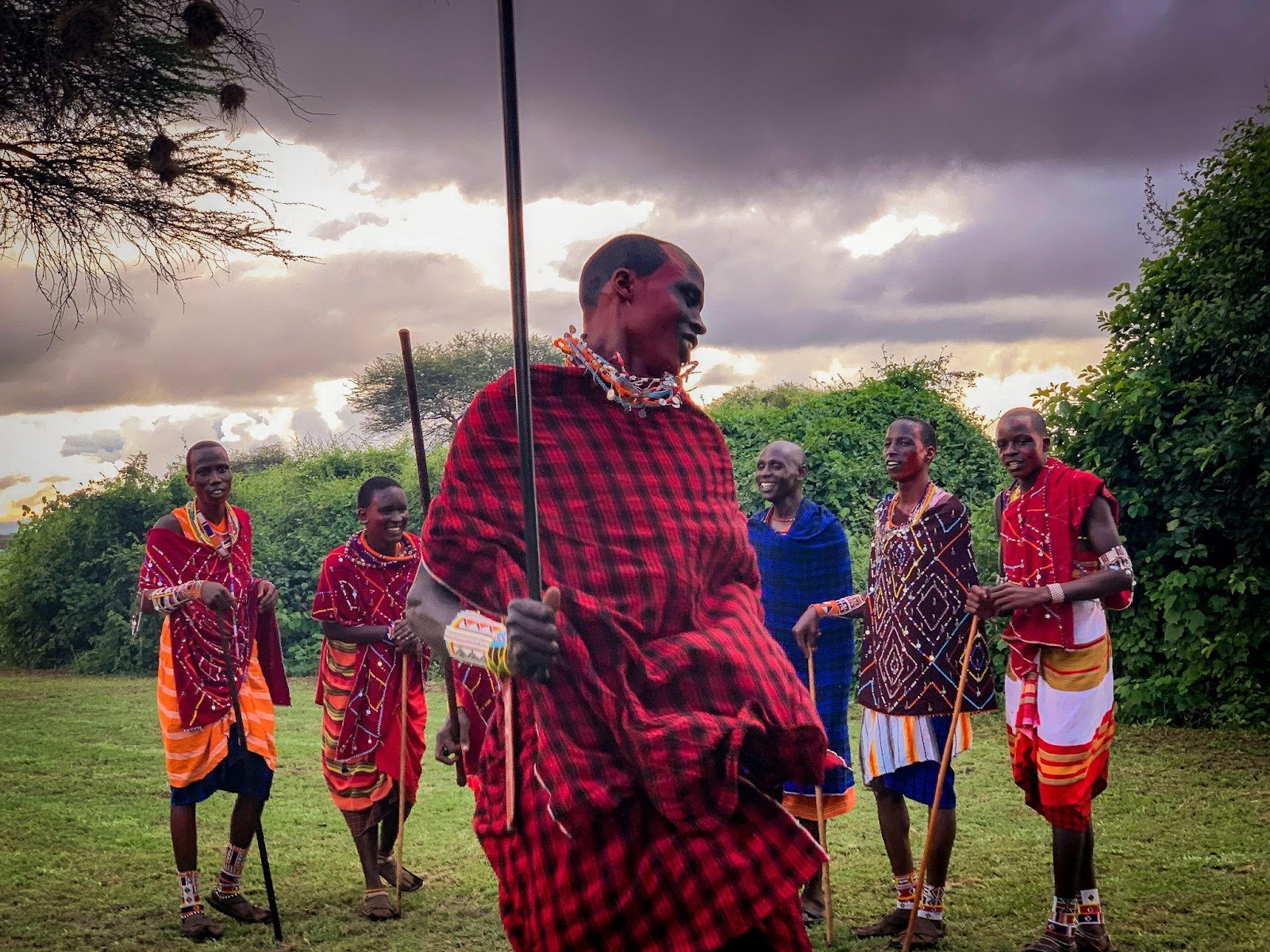 Meeting with the Maasai people. - photo by Ryan Frederick Wiramidjaja