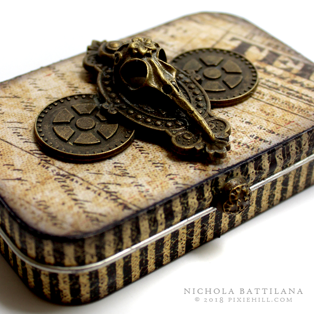 Portable Altoid Tin Altar #G45DarkSide - Nichola Battilana