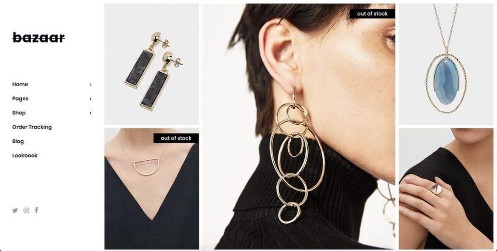 Bazaar - fashion ecommerce wordpress themes