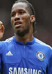 One of the top strikers Didier Drogba