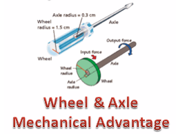 wheel and axle lab